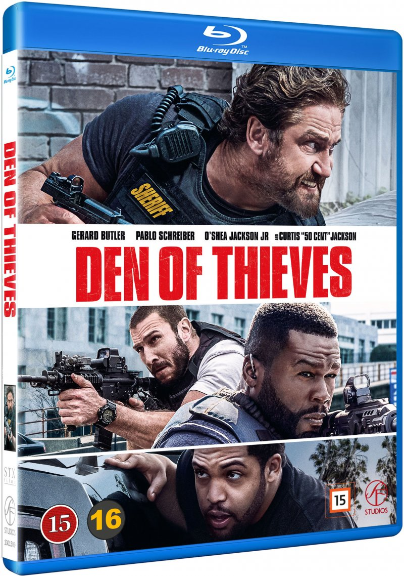 Image of   Den Of Thieves - Blu-Ray