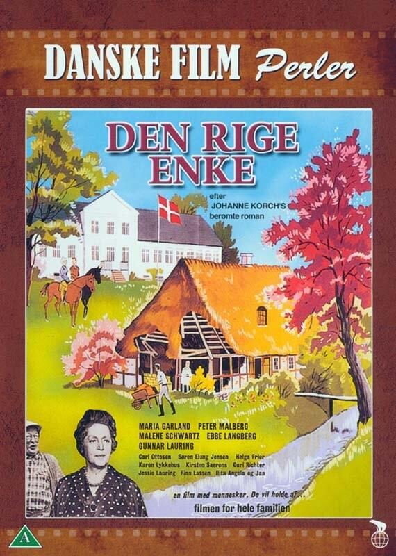 Image of   Den Rige Enke - DVD - Film