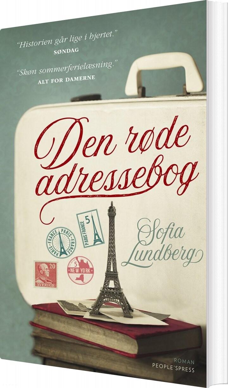Billede af Den Røde Adressebog - Sofia Lundberg - Bog