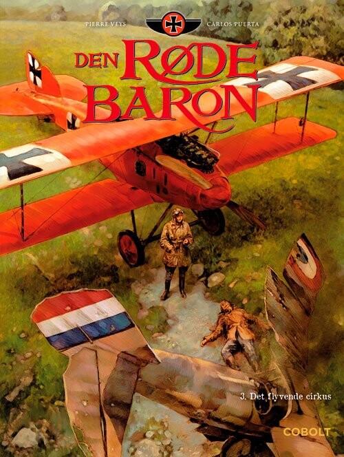 Billede af Den Røde Baron 3 - Pierre Veys - Tegneserie