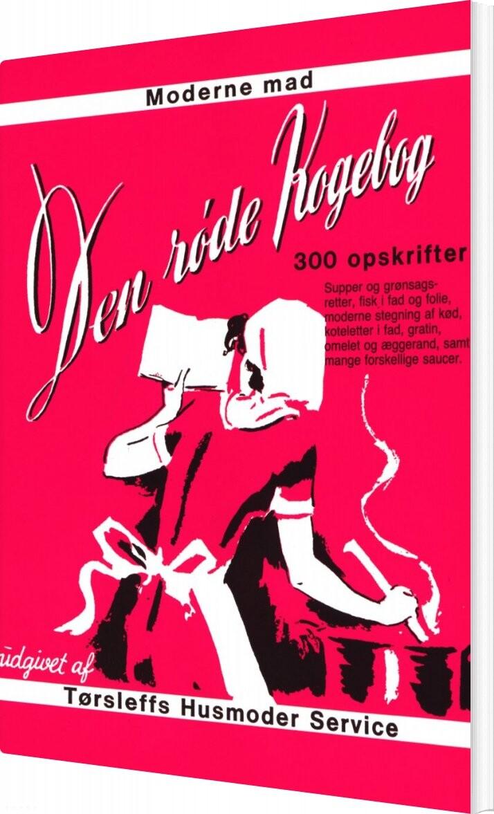 Image of   Den Røde Kogebog - Diverse - Bog