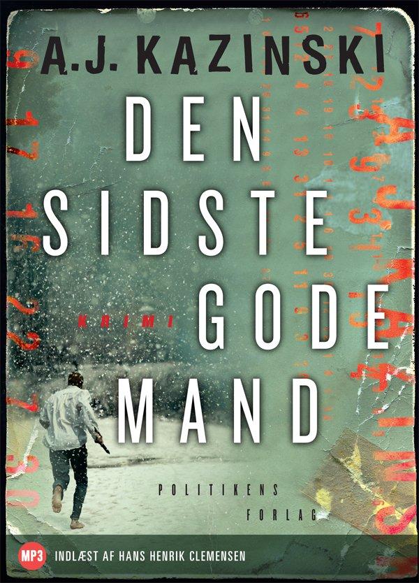 Image of   Den Sidste Gode Mand - Mp3 - A.j. Kazinski - Cd Lydbog