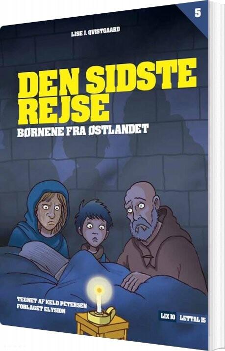 Image of   Den Sidste Rejse - Lise J. Qvistgaard - Bog