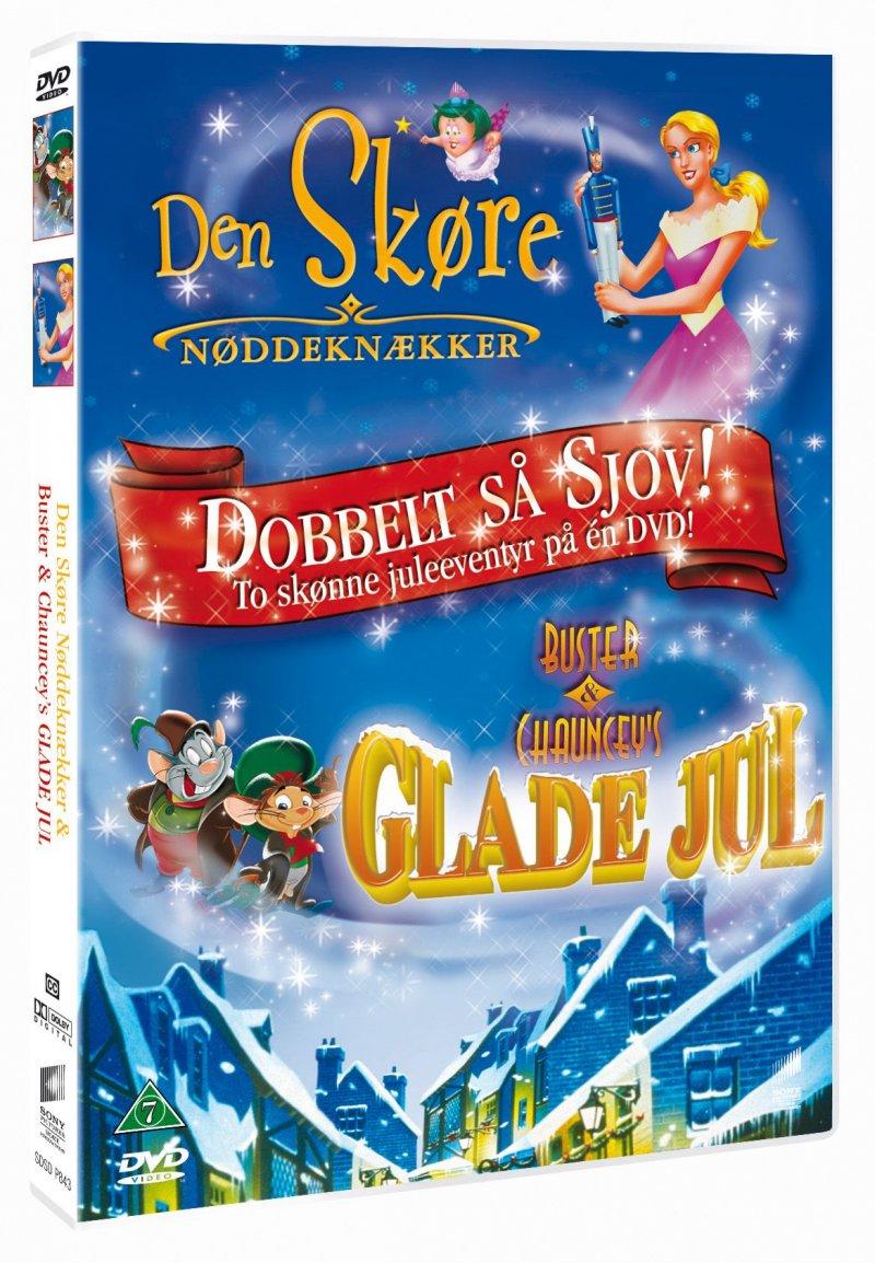 Image of   Den Skøre Nøddeknækker // Buster Og Chauncys Glade Jul - DVD - Film