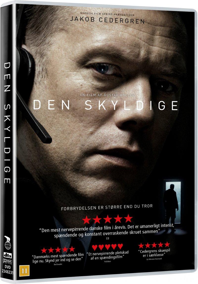 Image of   Den Skyldige - 2018 - DVD - Film
