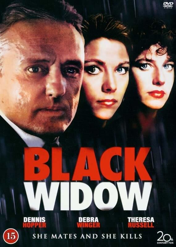 Image of   Den Sorte Enke / Black Widow - 1987 - DVD - Film