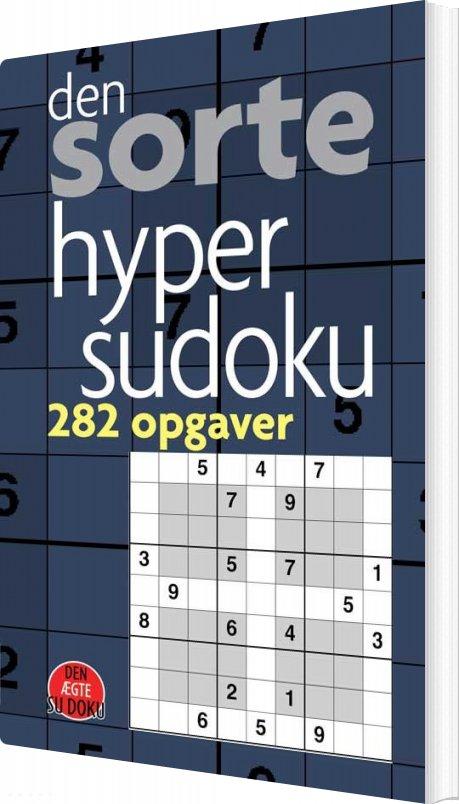 Image of   Den Sorte Hyper-sudoku - Pedja - Bog