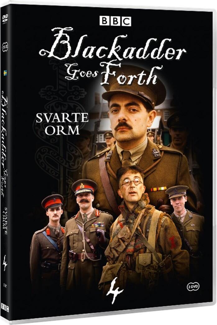 Image of   Den Sorte Snog - Sæson 4 - DVD - Tv-serie