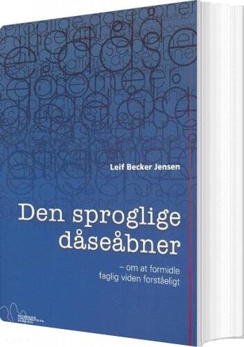 Image of   Den Sproglige Dåseåbner - Leif Becker Jensen - Bog
