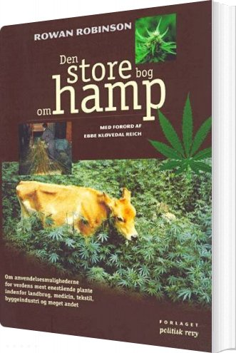 Image of   Den Store Bog Om Hamp - Rowan Robinson - Bog