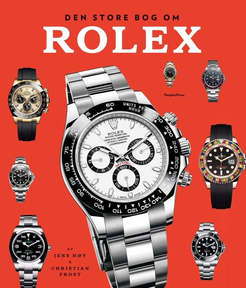 Image of   Den Store Bog Om Rolex Revideret Udgave - Christian Frost - Bog