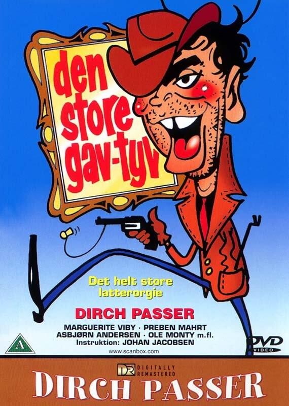 Billede af Den Store Gavtyv - DVD - Film