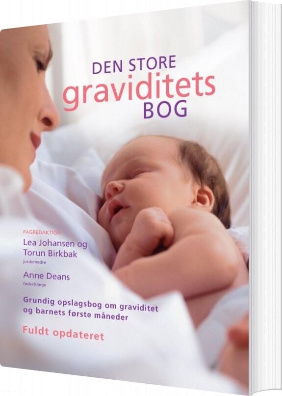 Image of   Den Store Graviditetsbog - Anne Deans - Bog