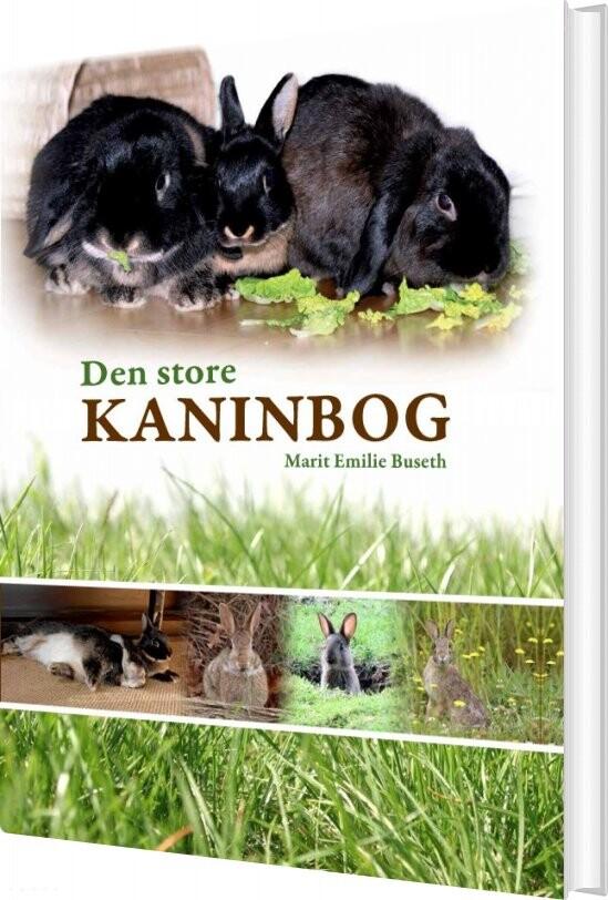 Image of   Den Store Kaninbog - Marit Emilie Buseth - Bog