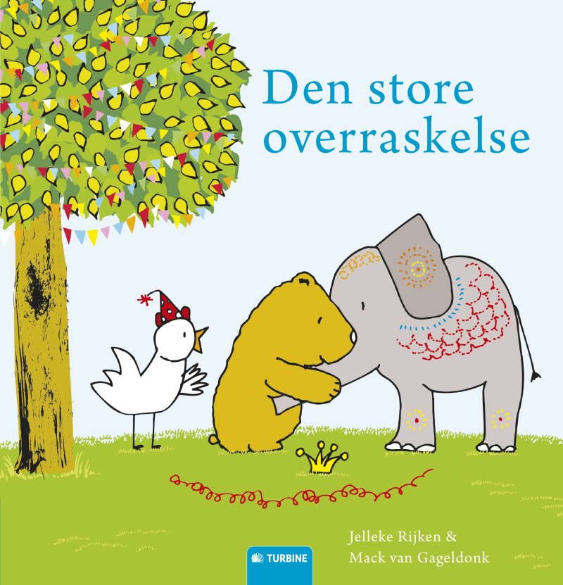 Image of   Den Store Overraskelse - Jelleke Rijken - Bog