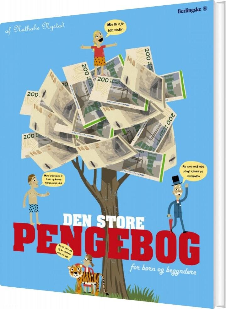 Image of   Den Store Pengebog - Nathalie Nystad - Bog