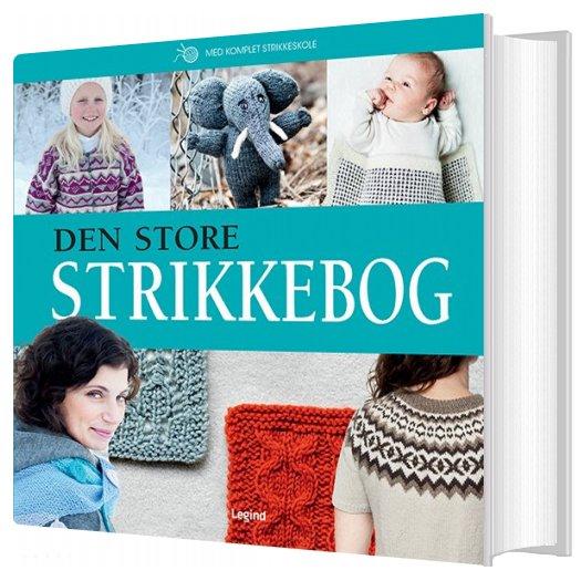 Image of   Den Store Strikkebog - Lilly Secilie Brandal - Bog