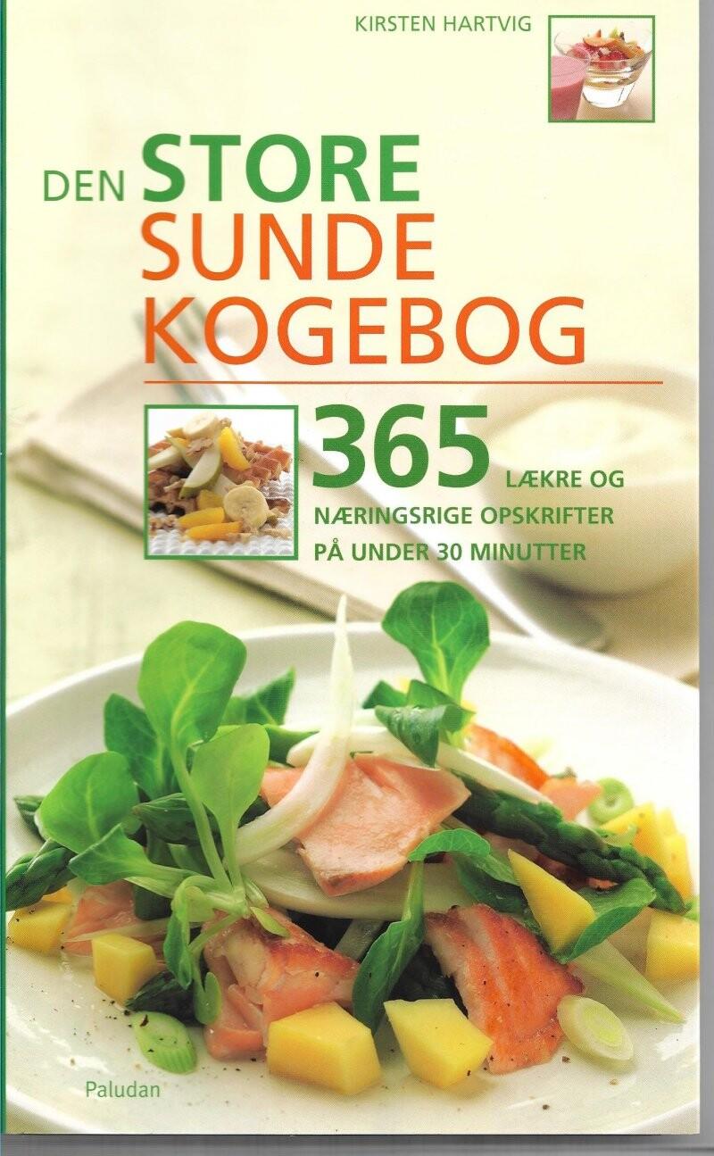 Image of   Den Store Sunde Kogebog - Kirsten Hartvig - Bog