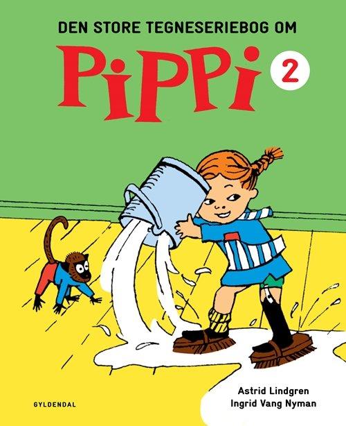 Den Store Tegneseriebog Om Pippi 2 - Astrid Lindgren - Bog
