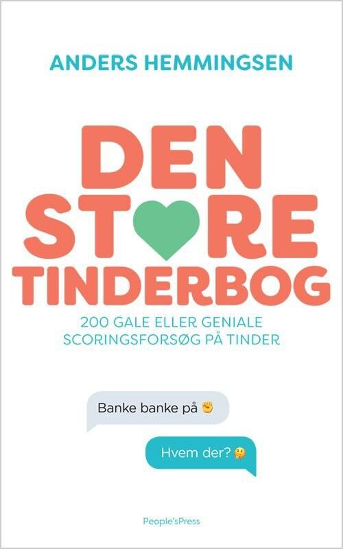 Image of   Den Store Tinderbog - Anders Hemmingsen - Bog