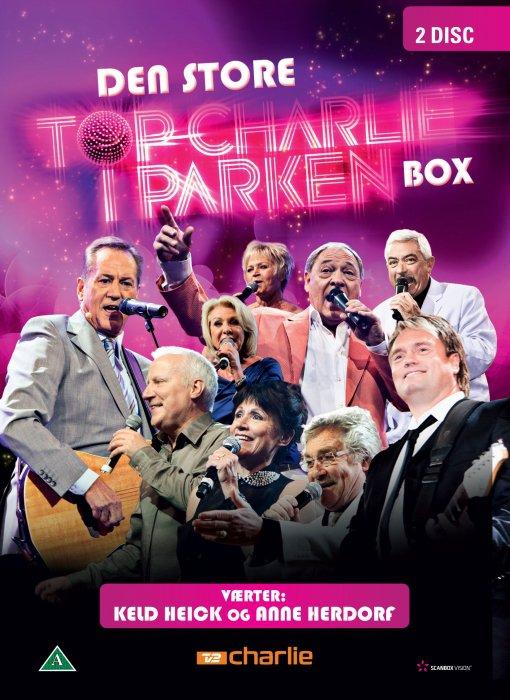 Billede af Den Store Top Charlie I Parken Box - DVD - Film