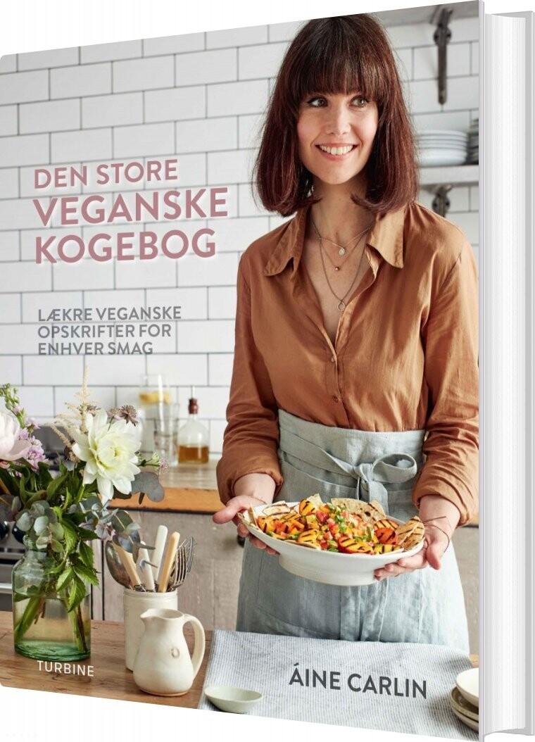Image of   Den Store Veganske Kogebog - Aine Carlin - Bog