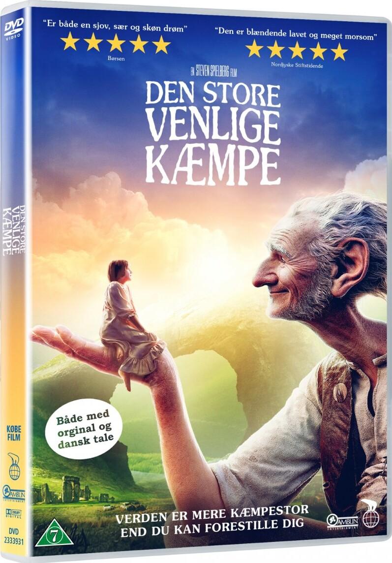 Image of   Den Store Venlige Kæmpe / The Bfg - DVD - Film