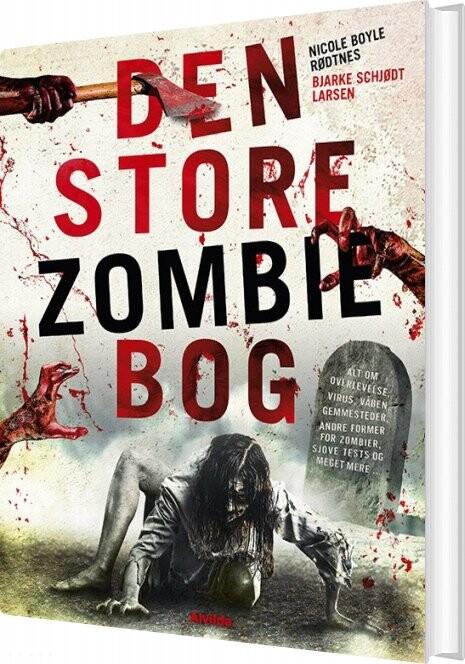 Image of   Den Store Zombie-bog - Nicole Boyle Rødtnes - Bog