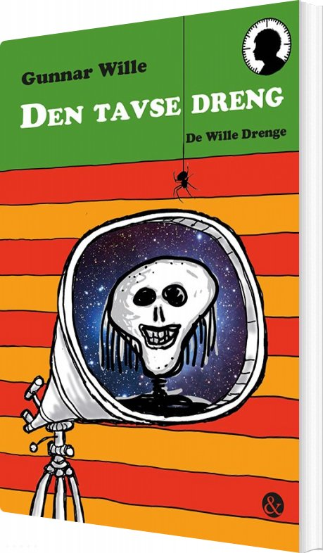 Image of   Den Tavse Dreng - Gunnar Wille - Bog