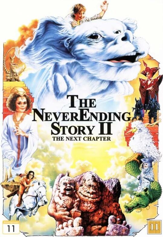 Billede af Den Uendelige Historie 2 / The Never Ending Story 2 - DVD - Film