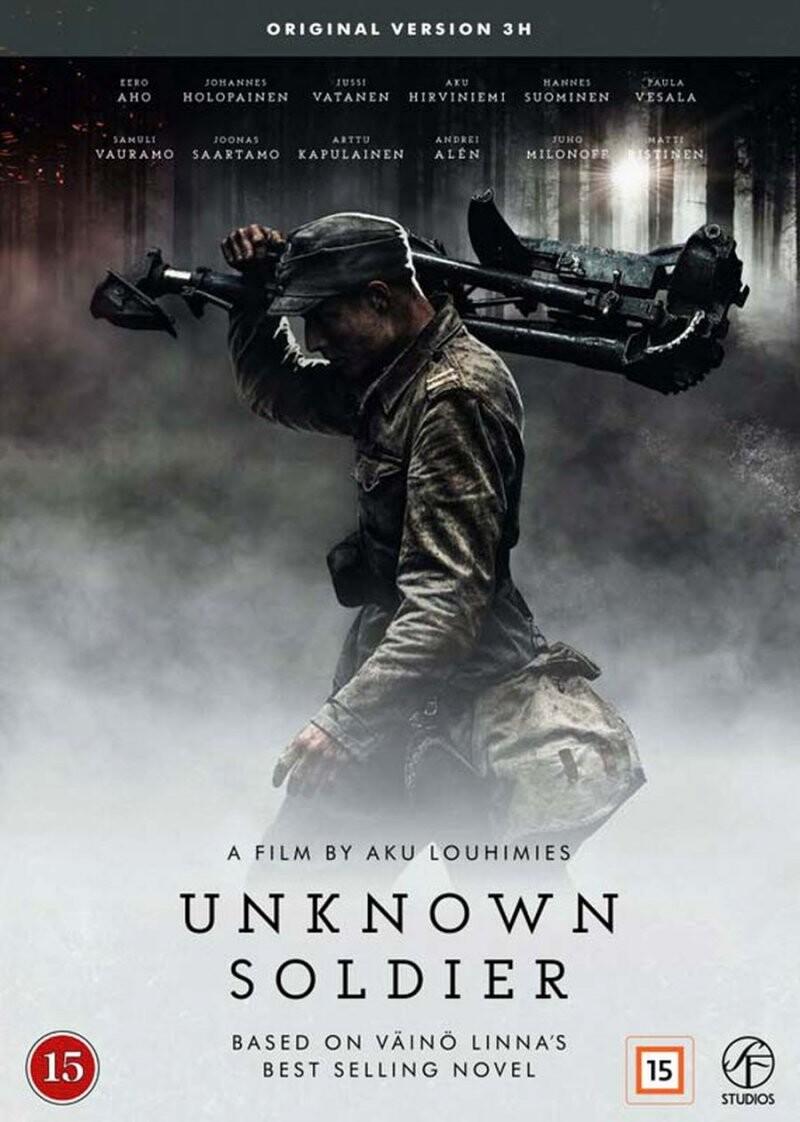 Image of   Den Ukendte Soldat / The Unknown Soldier - 2017 - DVD - Film