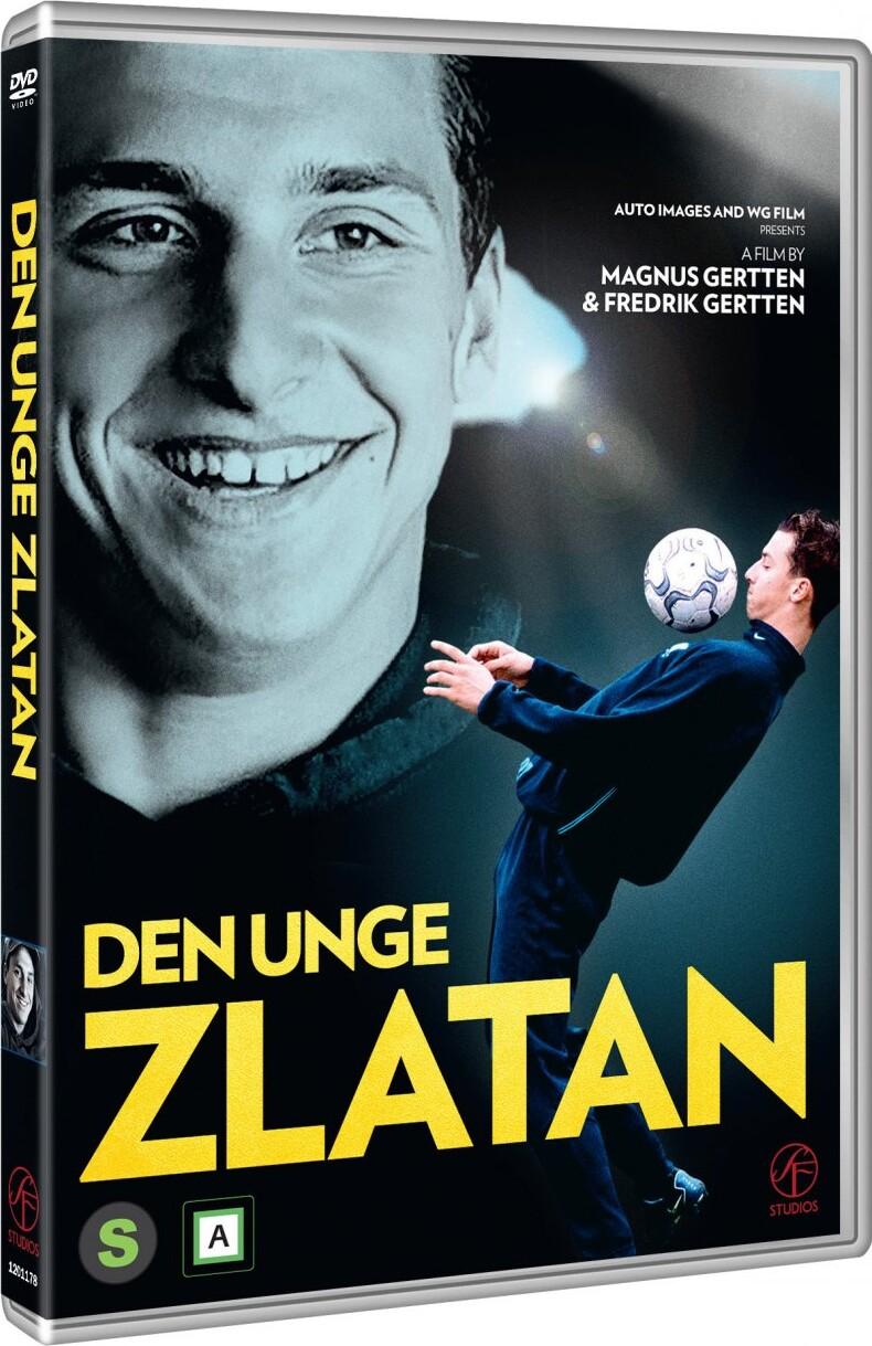 Image of   Den Unge Zlatan - DVD - Film