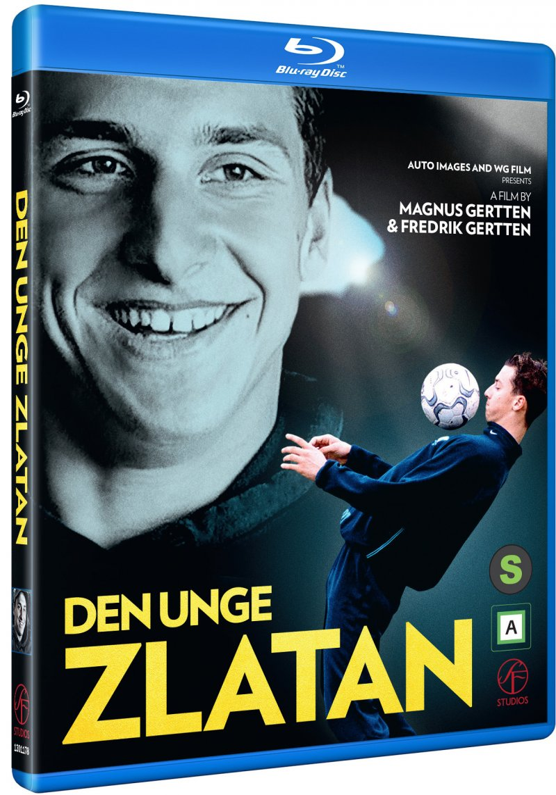 Image of   Den Unge Zlatan - Blu-Ray
