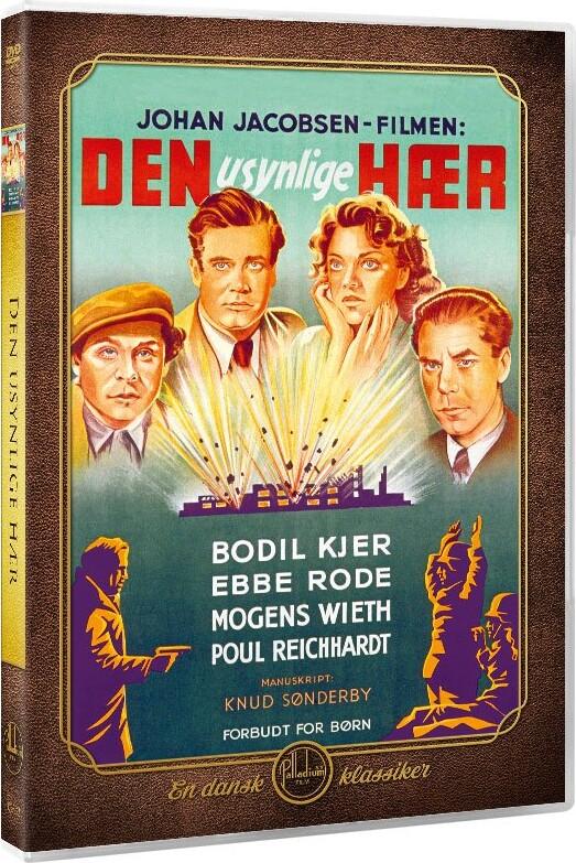 Image of   Den Usynlige Hær - DVD - Film