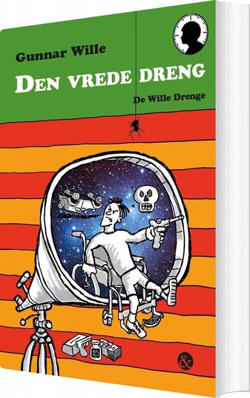 Image of   Den Vrede Dreng - Gunnar Wille - Bog