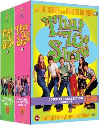 Image of   Dengang I 70erne - Den Komplette Serie - Sæson 1-8 - DVD - Tv-serie