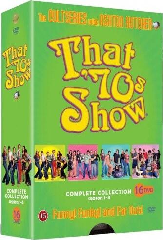 Image of   Dengang I 70erne - Sæson 1-4 - DVD - Tv-serie