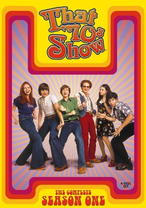 Image of   Dengang I 70erne - Sæson 1 - DVD - Tv-serie