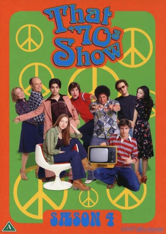Image of   Dengang I 70erne - Sæson 4 - DVD - Tv-serie