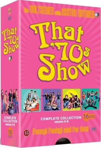 Image of   Dengang I 70erne - Sæson 5-8 - DVD - Tv-serie