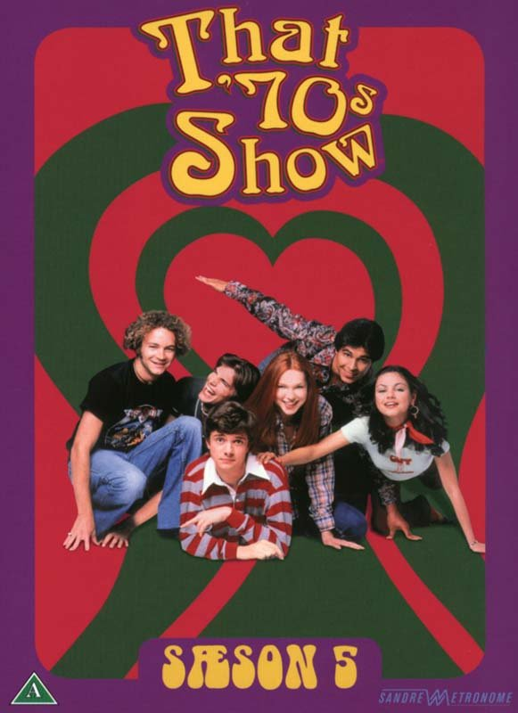 Image of   Dengang I 70'erne - Sæson 5 - DVD - Tv-serie