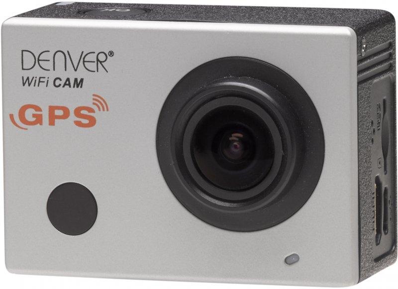 """Image of   Denver - Action Kamera Sæt - Fuld Hd - 16mp - 2"""" Skærm - Acg-8050w - Sølv"""