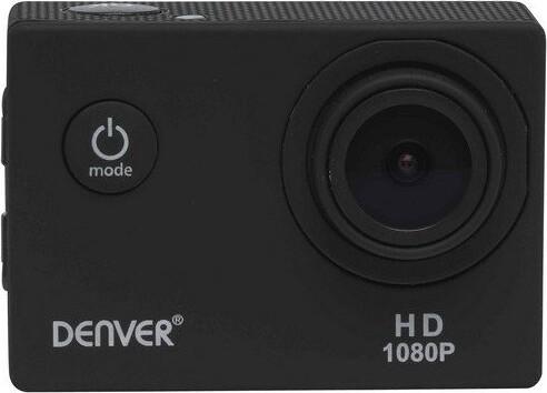 Image of   Denver - Action Kamera Sæt - Fuld Hd - 30 M Vandtæt - Act-1015 - Sort