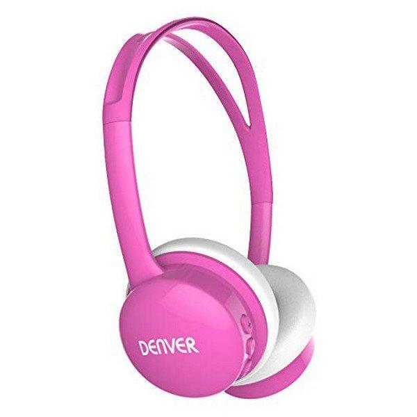 Image of   Denver Bth-150 - Foldbare Høretelefoner Med Bluetooth - Pink