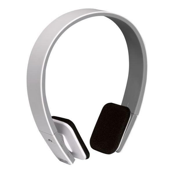 Image of   Denver Bth-204 Trådløs Bluetooth Høretelefoner 200 Mah - Hvid