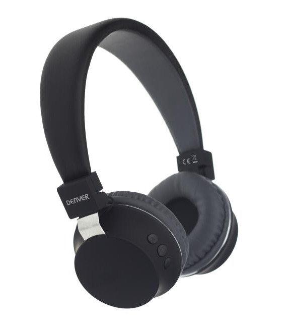 Image of   Denver Bth-205 Trådløs Bluetooth Høretelefoner I Sort
