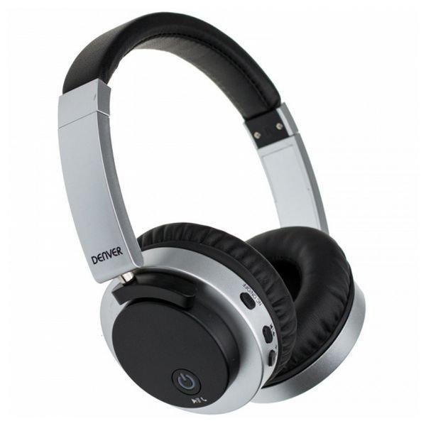 Image of   Denver Btn-206 Bluetooth Høretelefoner - Sort