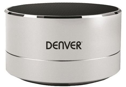 Denver Bts-32 – Trådløs Bluetooth Højttaler 3w – Sølv