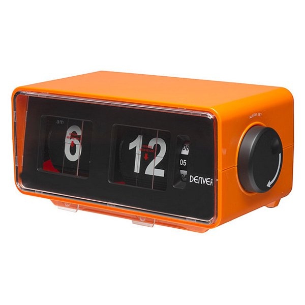 Image of   Denver Clockradio Cr-425 - Fm Radio - Orange