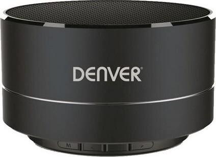 Denver Trådløs Bluetooth Højttaler Bts-32 3w – Sort